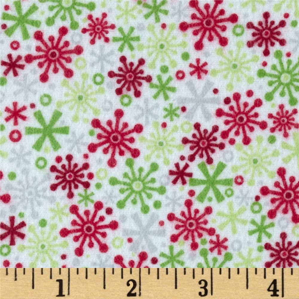 Riley Blake Home for the Holidays Flannel Flake