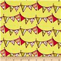Lemon Squeezy Pennants Bright Yellow