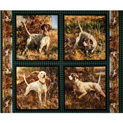 Wild Wings Point North Dog Pillow Panel