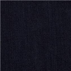 Stretch Denim Dark Wash Blackish Blue