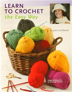 Leisure Arts ''Teach Yourself to Crochet the Easy