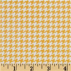 Michael Miller Tiny Houndstooth Mango