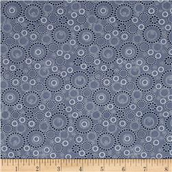 Kitchen Love Beaded Circles Dark Gray
