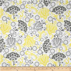 Riley Blake Evening Blooms Large Floral Yellow