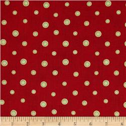 Small Dots Red/Cream