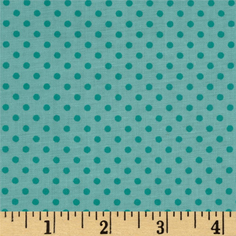 Baby Talk Dots Mint