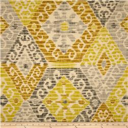 Home Accents Mandalay Ikat Mustard Fabric
