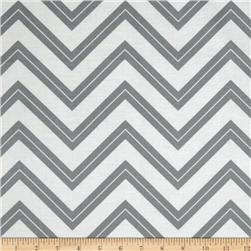 Cruzin' Chevron Stripe Gray