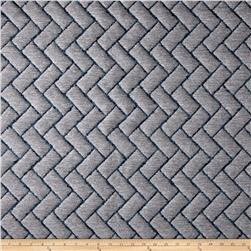 Brick Quilted Basketweave Gray