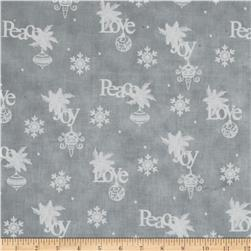 Christmas Wishes Wrapping Paper Mist