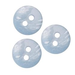 Fashion Button 1/2'' Anaheim Light Blue