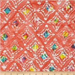 Indian Batik Diamond Coral