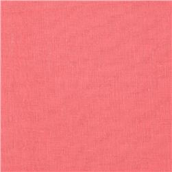 Cotton Voile Tropical Coral Pink