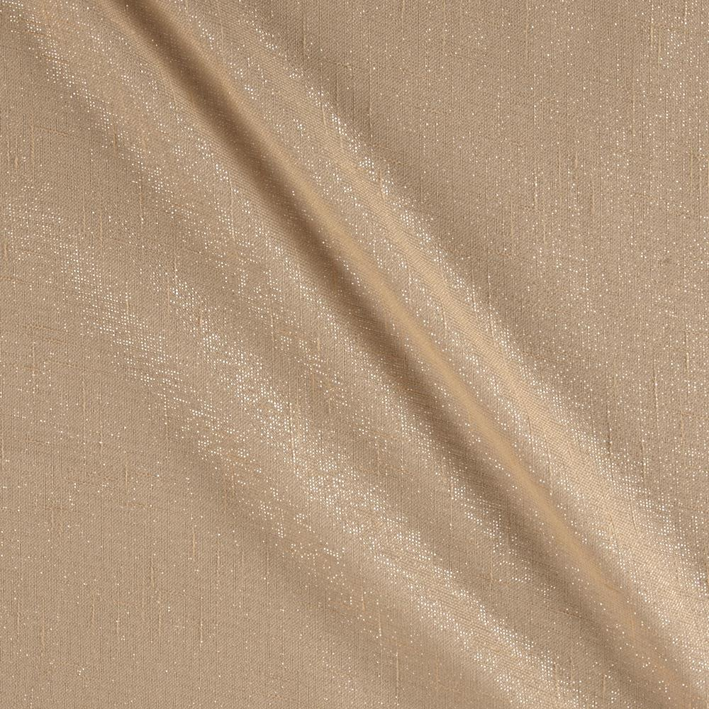 World wide 110 metallic sheer champagne discount for Fabric world