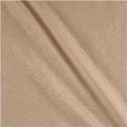 "World Wide 110"" Metallic Sheer Champagne"