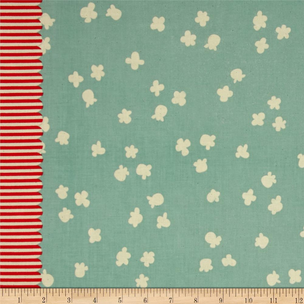 Cotton + Steel Penny Arcade Popcorn Little Blue