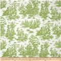 Premier Prints Jamestown Toile Kelly Green