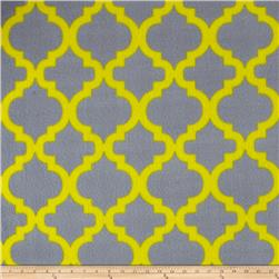 Simply Bella Fleece Gray/Yellow
