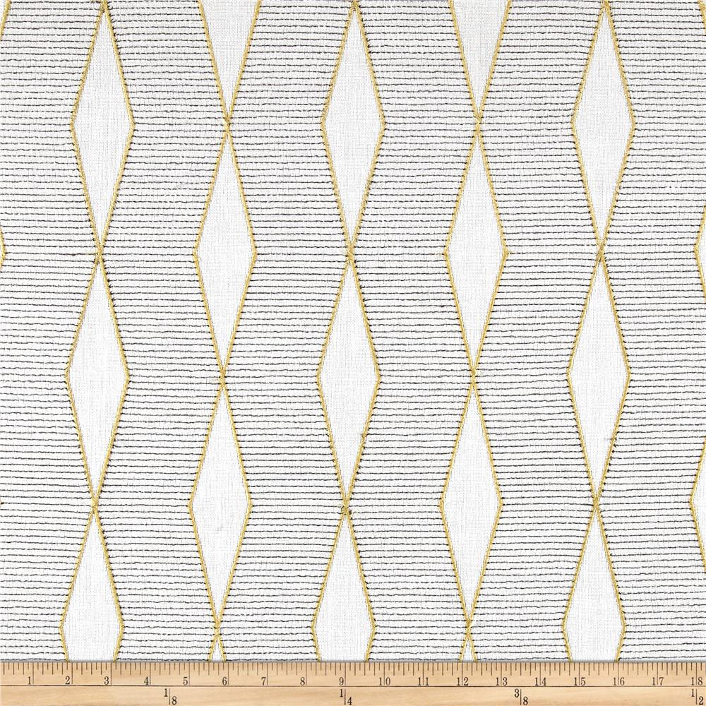 Richloom Hiker Basketweave Sisal Embroidered