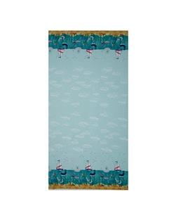 Tales of The Sea Whale Border Aqua