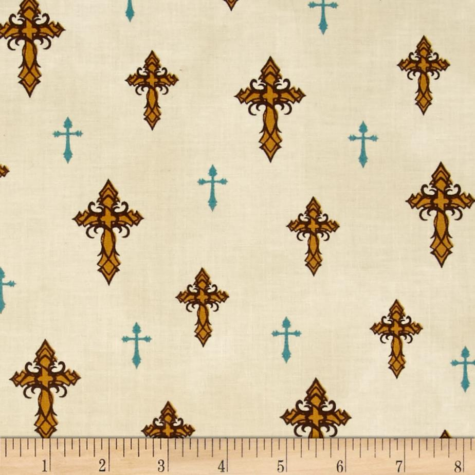 Amazing Grace Crosses Beige