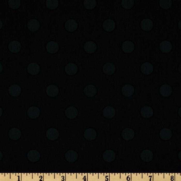 Moda 108'' Dottie Quilt Backing Tonal Black