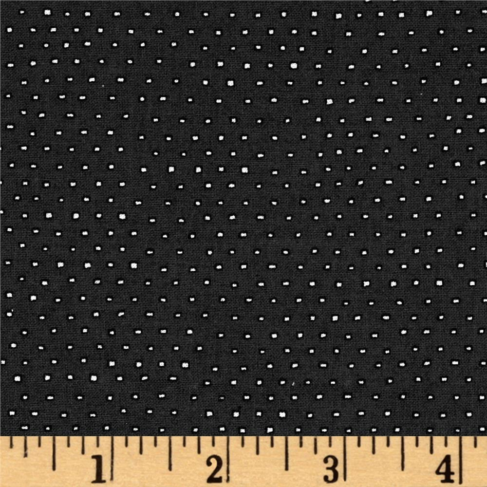 Pixie Square Dot  Charcoal