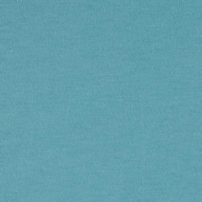 Telio Organic Cotton Jersey Knit Turquoise Fabric