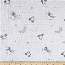 Disney Bambino Double Gauze Sleeping Mickey Mouse