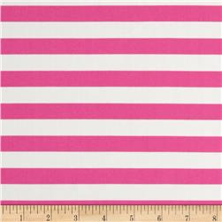 Swimwear Print  Stripe Pink/Cream