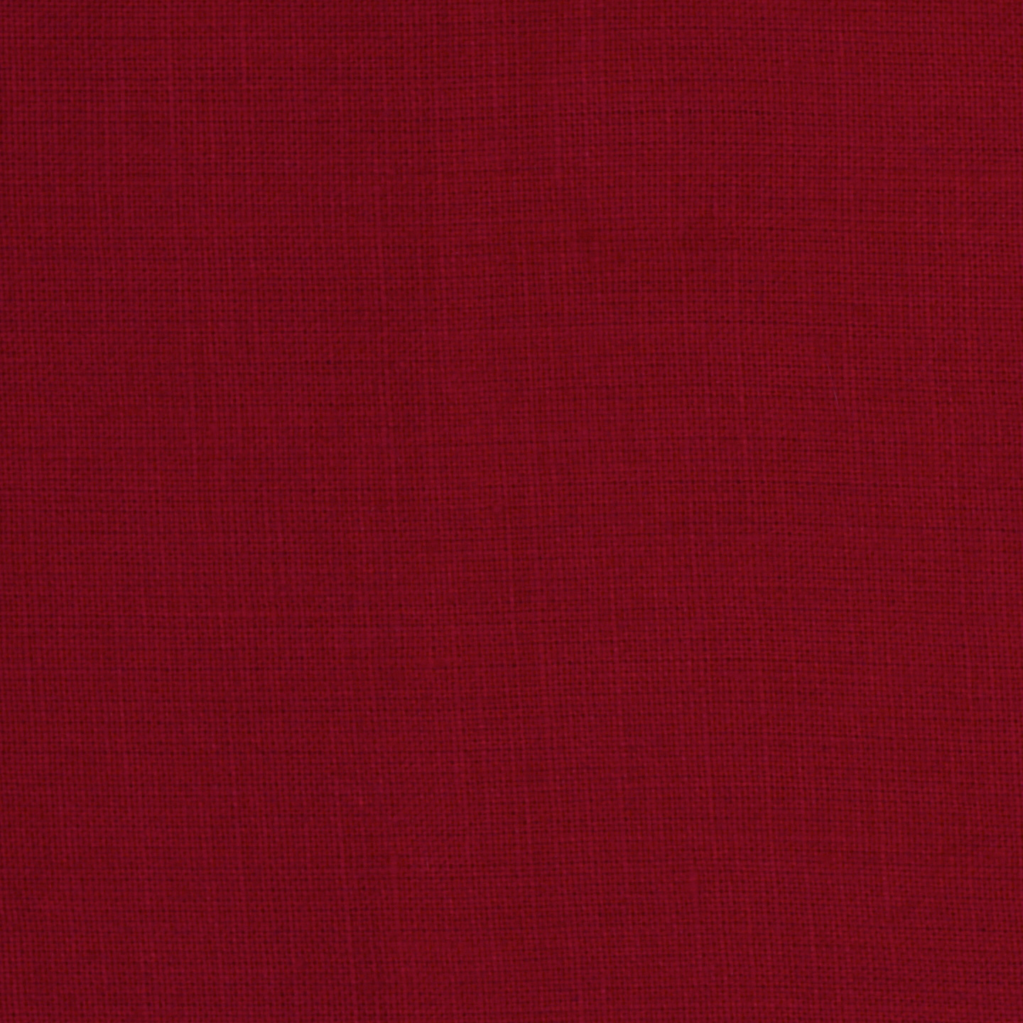 Medium Weight Linen Red Fabric