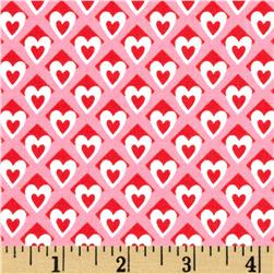 Michael Miller Heart O' Mine Poppy Fabric