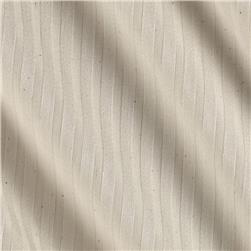 Kaufman Raw & Refined 5 oz. Dobby Medium Stripe Ivory