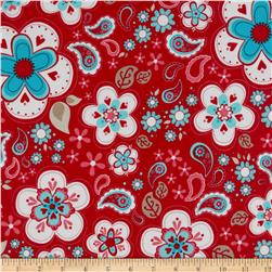 Riley Blake Twice as Nice Laminate Large Floral