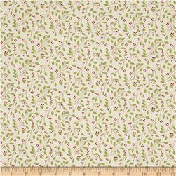 Moda Woodland Summer Buds & Berries Ivory