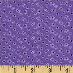 Lites & Brites Mini Floral Purple