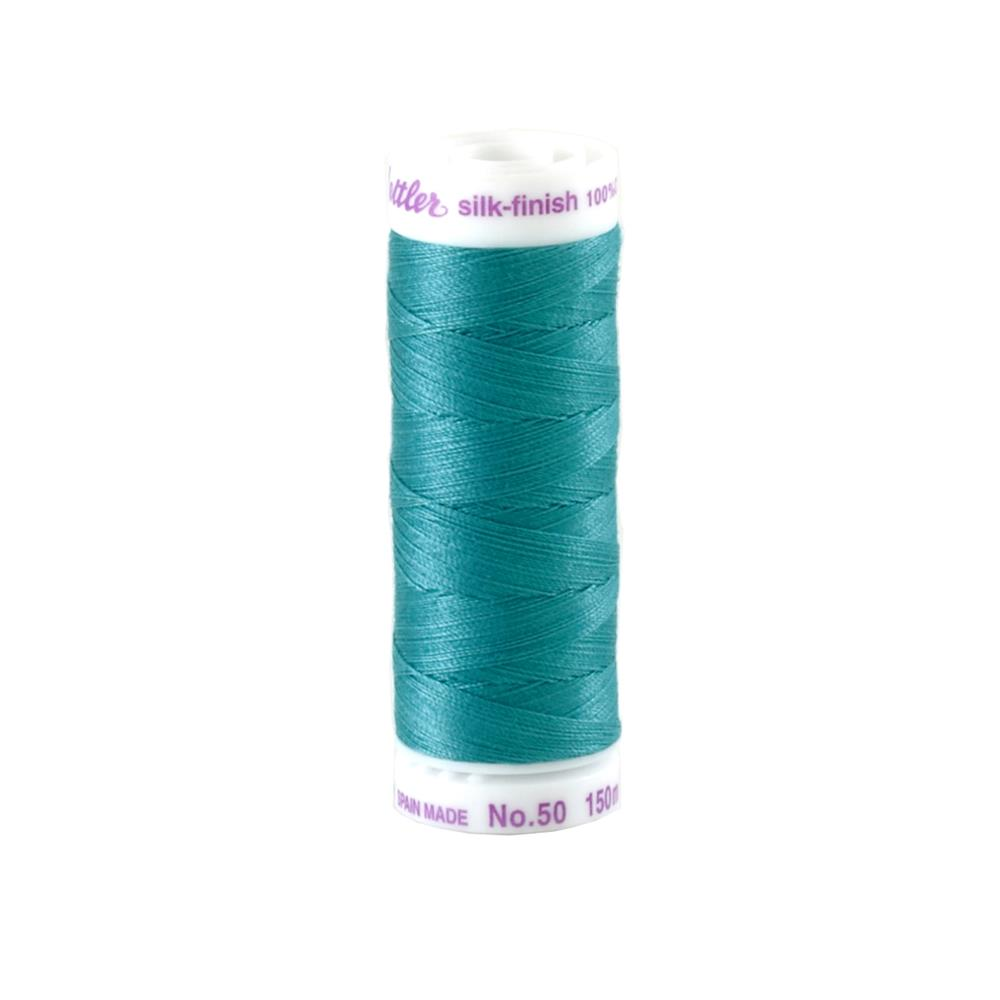Mettler Cotton All Purpose Thread Glacier Blue