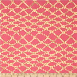 Kaffe Fassett Collective Nets Pink Fabric