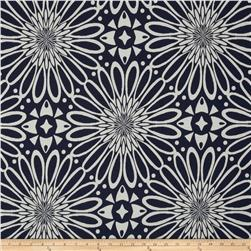 Golding Flower Optic Jacquard Navy