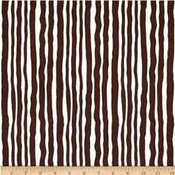 Contempo Palm Springs Palm Stripe Brown