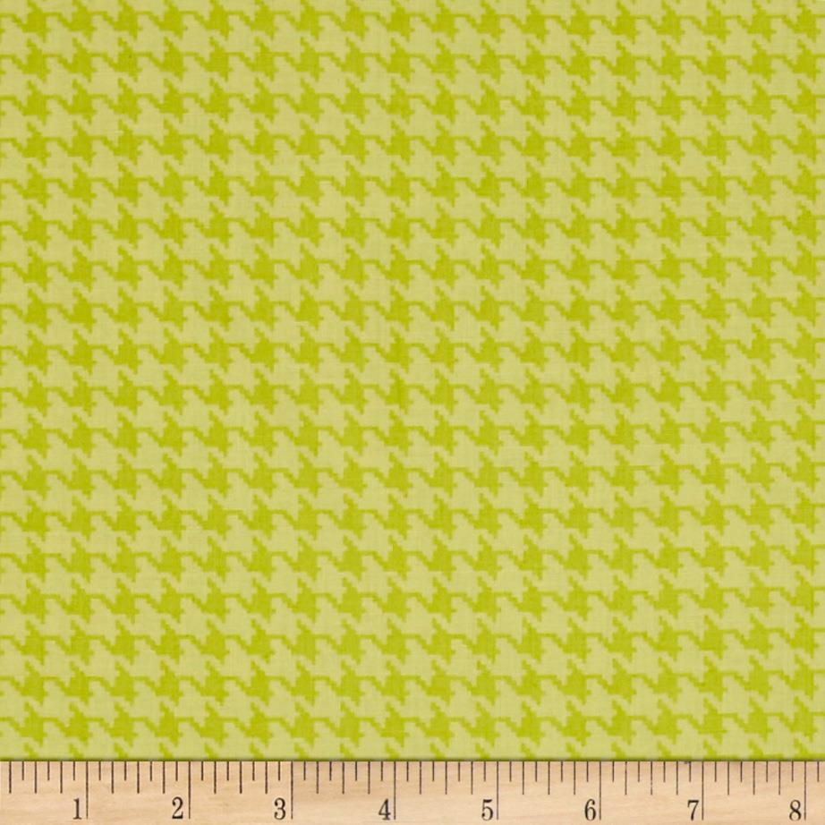 The Dog Gone It Collection Houndstooth Green