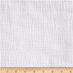Heavy Cotton Gauze White