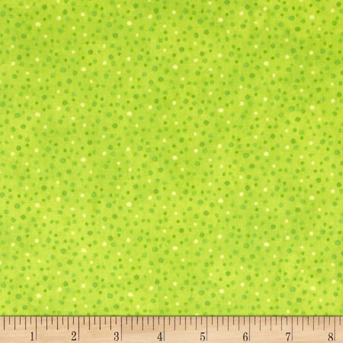 Essentials Brights Petite Dots Lime