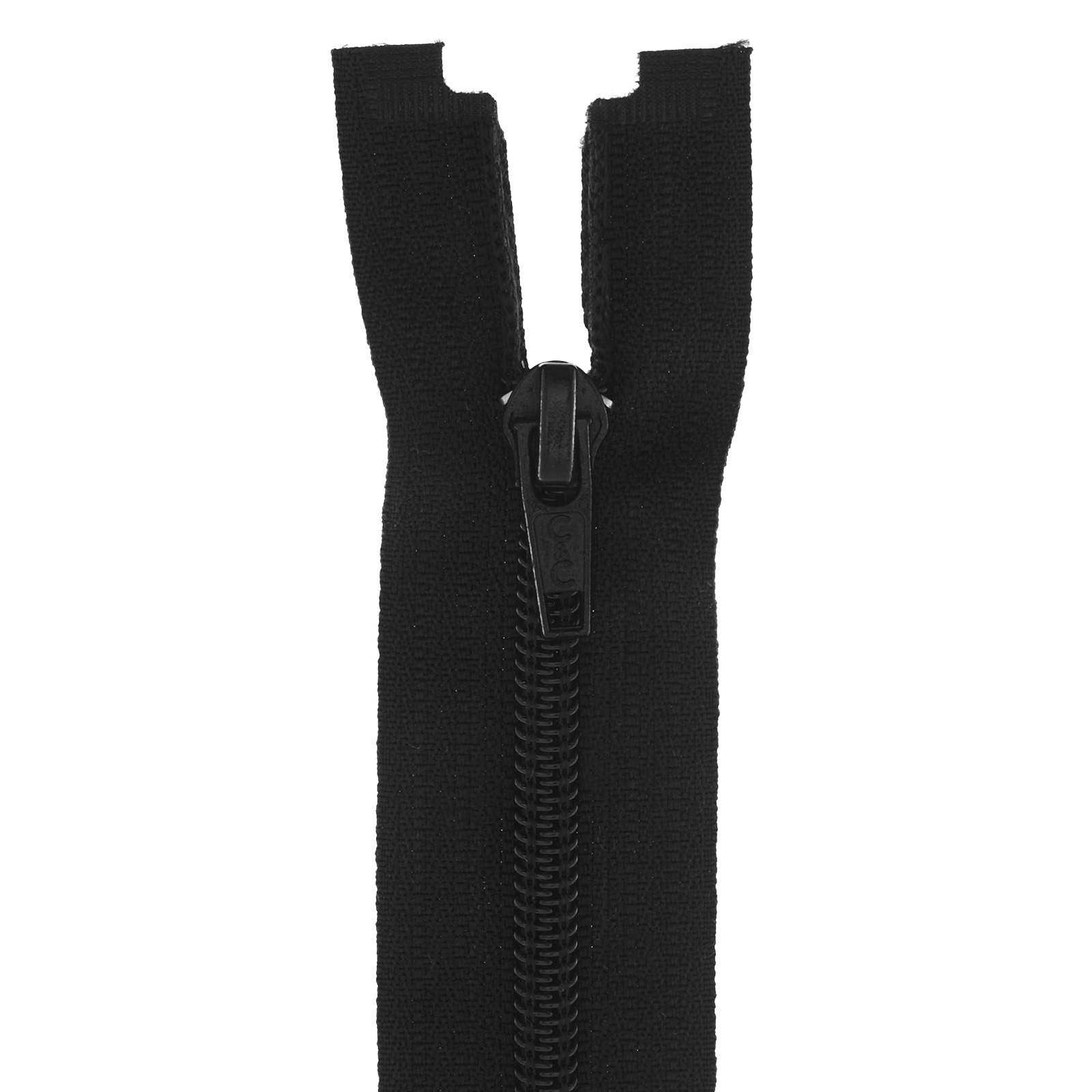 Coats & Clark Coil Separating Zipper 24'' Black