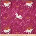 Heather Ross Far Far Away Unicorn Purple
