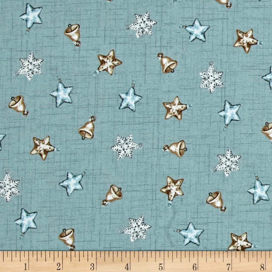 Balmoral Mini Scatter Star Teal