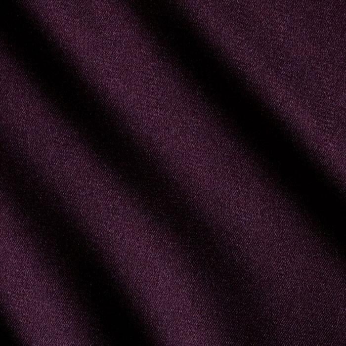 Tahari Stretch Satin Eggplant