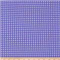 Michael Miller Tiny Gingham Purple