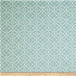 Fabricut Hall Lattice Aqua