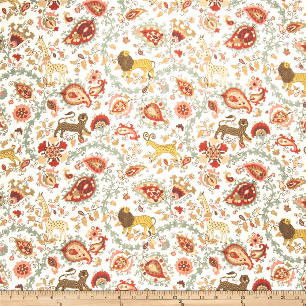 Fabricut Notorious Paisley Curry